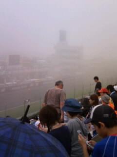 菅生は霧がすごいです